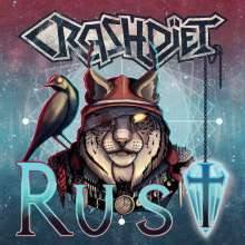 Crashdiet: Rust (180g) (Limited Edition) (Clear Blue Vinyl), LP