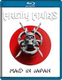 Pretty Maids: Maid In Japan: Future World Live, Blu-ray Disc