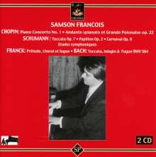Samson Francois,Klavier, 2 CDs