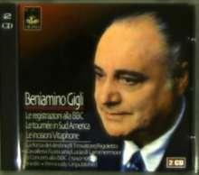 Benjamino Gigli singt Arien, 2 CDs