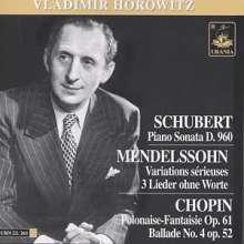 Vladimir Horowitz,Klavier, CD