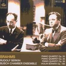 Johannes Brahms (1833-1897): Klavierquartette Nr.1 & 2, 2 CDs