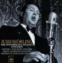 Jussi Björling - The Stockholm & Atlanta Concerts, CD