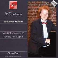 Johannes Brahms (1833-1897): Klaviersonate Nr.1 op.1, CD