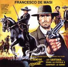 Francesco De Masi: Filmmusik: Il Segno Del Coyote/C´e Sartana..., CD