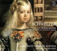 Johann Heinrich Schmelzer (1623-1680): La Margarita - Musik am Wiener & Prager Hof, CD