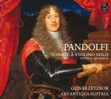 Giovanni Antonio Pandolfi Mealli (1629-1679): Violinsonaten op.4 Nr.1-6, CD