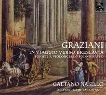 Carlo Graziani (1725-1787): Sonaten für Cello, CD