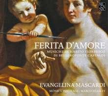 "Bellerofonte Castaldi (1581-1649): Musik für Theorbe ""Ferita D'Amore"", CD"