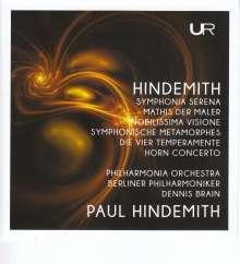 "Paul Hindemith (1895-1963): Symphonie ""Mathis der Maler"", 2 CDs"