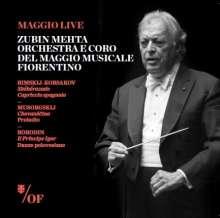 Zubin Mehta dirigiert das Orchestra del Maggio Musicale Fiorentino, CD