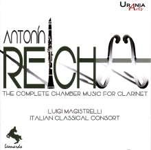 Anton Reicha (1770-1836): Kammermusik mit Klarinette, 2 CDs