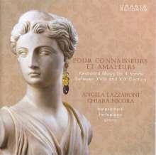 Angela Lazzaroni & Chiara Nicora - Pour Connaisseurs Et Amateurs, CD