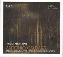 Antonio Caldara (1671-1736): Sonaten für Violine & Bc Nr.1-6, CD