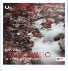 Ruggero Leoncavallo (1857-1919): Sämtliche Klavierwerke, 2 CDs