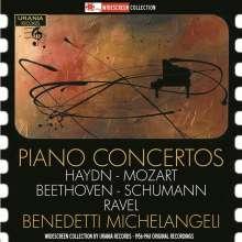 Benedetti Michelangeli spielt Klavierkonzerte, 2 CDs