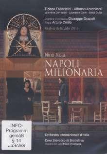 Nino Rota (1911-1979): Napoli Milionaria, DVD