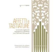 Affetti e Tastiature, CD