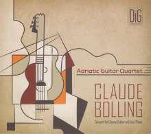 Claude Bolling (1930-2020): Konzert für Gitarre & Jazz Piano (Arrangiert für Gitarrenquartett), CD