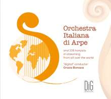 Orchestra Italiana di Arpe and 106 Harpists in Streaming from all over the World, CD