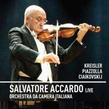 Salvatore Accardo Live, 1 CD und 1 DVD