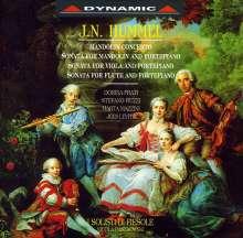 Johann Nepomuk Hummel (1778-1837): Mandolinenkonzert G-Dur, CD