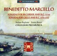 Benedetto Marcello (1686-1739): Cellosonaten Nr.1,3-6, CD