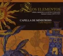 Antonio de Literes (1673-1747): Los Elementos, CD