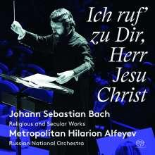 """Johann Sebastian Bach (1685-1750): Kantate BWV 82 """"Ich habe genug"""", SACD"""
