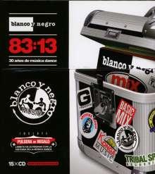 30 Years Of Dance Music Blanco Y Negro, 15 CDs