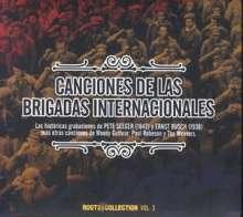 Canciones De Las Brigadas Internac.., CD