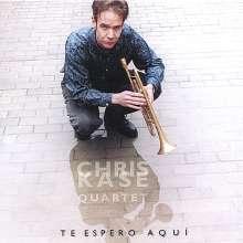 Chris Quartet Kase: Te Espero Aqua, CD