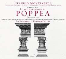 Claudio Monteverdi (1567-1643): L'incoronazione di Poppea, 3 CDs