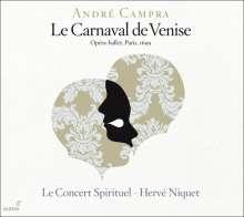 Andre Campra (1660-1744): La Carnaval de Venise (Opera-ballet,Paris 1699), 2 CDs