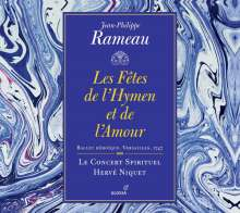 Jean Philippe Rameau (1683-1764): Les Fetes de l'Hymen et de l'Amour, 2 CDs