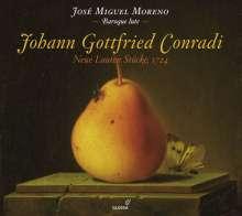 Johann Gottfried Conradi: Neue Lauten Stücke (1724), CD