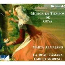 Musica en Tiempos de Goya, CD