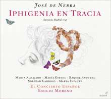 Jose de Nebra (1702-1768): Iphigenie en Tracia (Zarzuela,Madrid,1747), 2 CDs