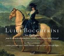 Luigi Boccherini (1743-1805): Klavierquartette G.259 Nr.1-6, CD