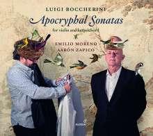 Luigi Boccherini (1743-1805): Apokryphe Sonaten für Violine & Cembalo, CD