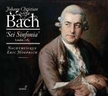 Johann Christian Bach (1735-1782): Bläsersymphonien Nr.1-6, CD