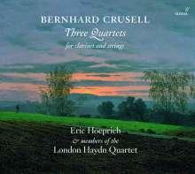 Bernhard Crusell (1775-1838): Klarinettenquartette Nr.1-3 (opp.2,4,7), CD
