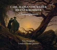 Eric Hoeprich spielt Klarinettenquintette, CD