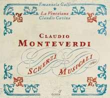 Claudio Monteverdi (1567-1643): Scherzi musicali (1632), CD