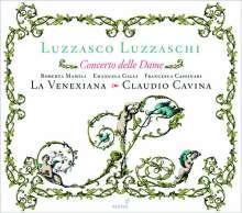 Luzzasco Luzzaschi (1545-1607): Concerto delle Dame - Madrigali für 1,2,3 Sopranstimmen, CD