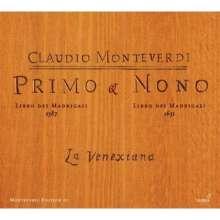 Claudio Monteverdi (1567-1643): Madrigali Libri 1 & 9, CD