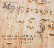 Claudio Monteverdi (1567-1643): Madrigali Libro 2, CD
