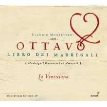 Claudio Monteverdi (1567-1643): Madrigali Libro 8, 3 CDs