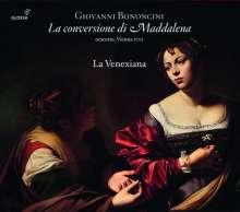 Giovanni Battista Bononcini (1670-1747): La conversione di Maddalena (Oratorium), 2 CDs