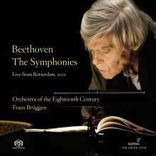 Ludwig van Beethoven (1770-1827): Symphonien Nr.1-9, 5 Super Audio CDs